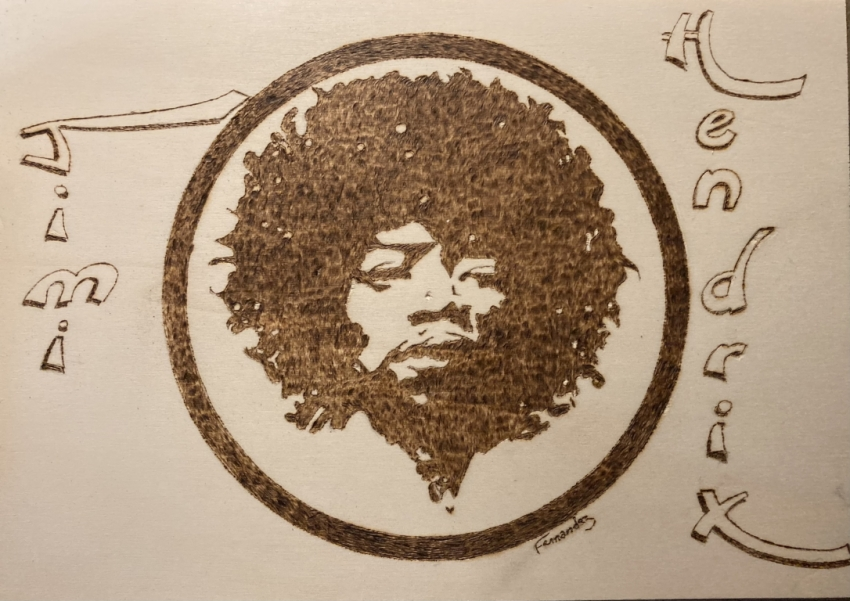 Jimi Hendrix par Clint